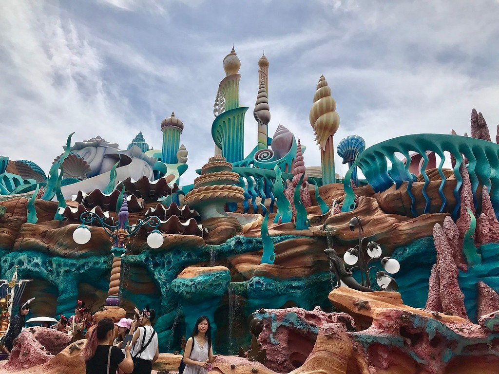 Triton's Kingdom in the Mermaid Lagoon.