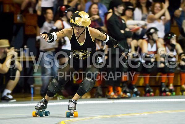 Big Easy Rollergirls vs. BHRG