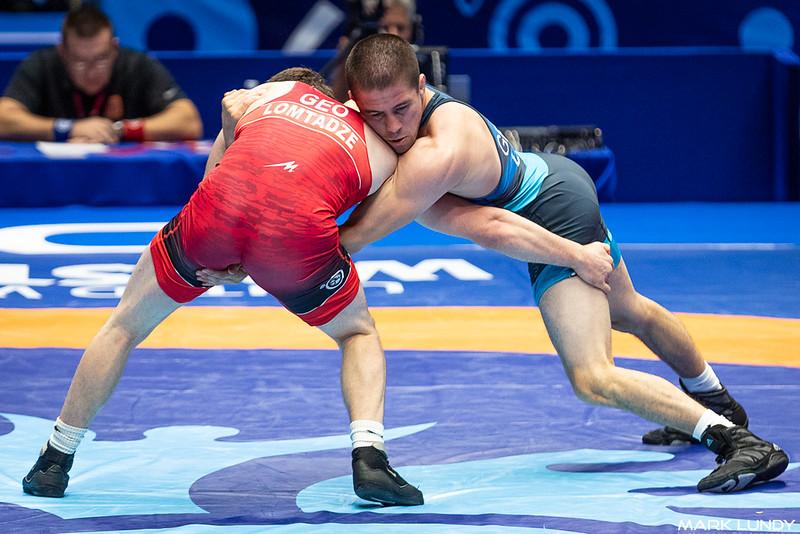Quarterfinal: Beka Lomtadze (Georgia) over Tyler Lee Graff (United States)  •  Dec 3-1 - 2019 World Championships