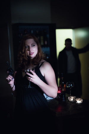 Modern Noir-Erica and Havilah