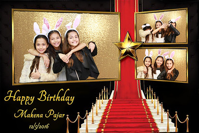 Makena Pajar Birthday
