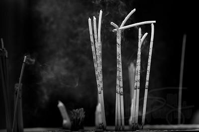 Incense. Hong Kong.