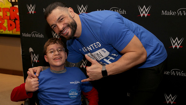 Roman Reigns - grants Camerons Wish in Milwaukee (Jan. 2020)