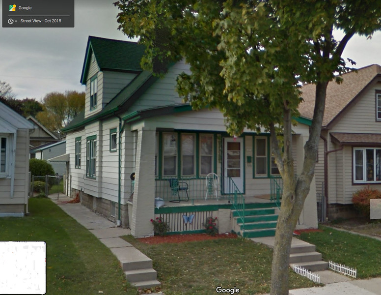 Mom and dad's first home (upstairs).