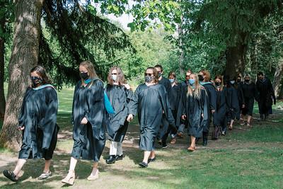 Graduation Procession 5-21-21