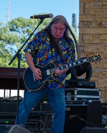 "Howard ""Guitar"" Luedtke and Blue Max at Northwoods Blues Festival - 210618"