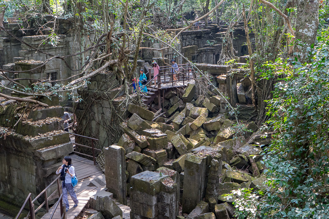 Beng Mealea Tourist Walkways
