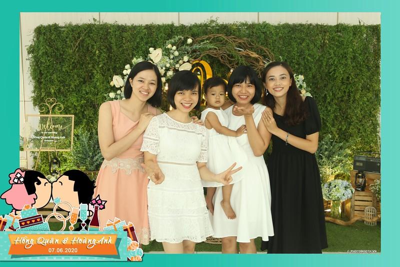 Hong Quan & Hoang Anh wedding instant print photobooth @ The Adora Nguyen Kiem   Chụp ảnh in hình lấy liền Tiệc cưới tại TP Hồ Chí Minh   Photobooth.vn Saigon
