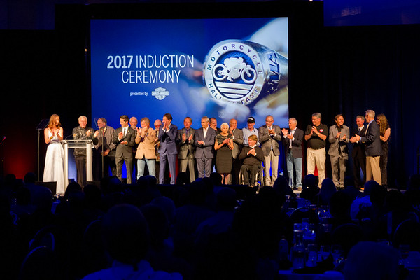 2017 AMA Motorcycle Hall of Fame Induction Ceremony Presented by Harley-Davidson