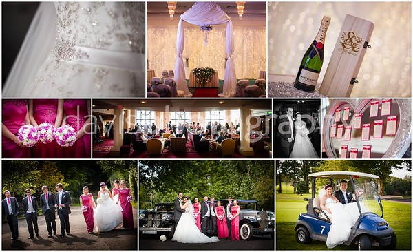 Roe Park Resort Wedding Sheena Louise + Cathal