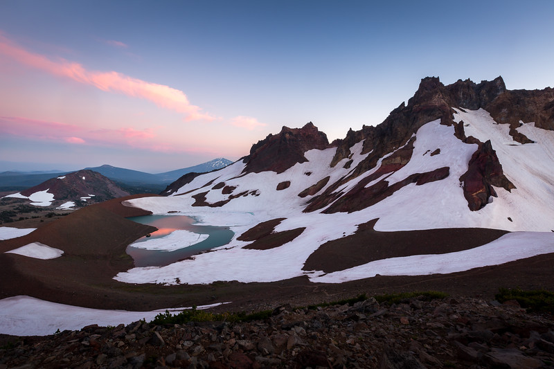 No Name Lake Sunset
