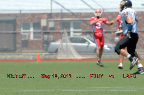 FDNY 24  vs   LAFD  14   May 19, 2012