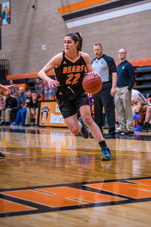 WBL Girls Varsity Basketball -V- East Ridge 2019
