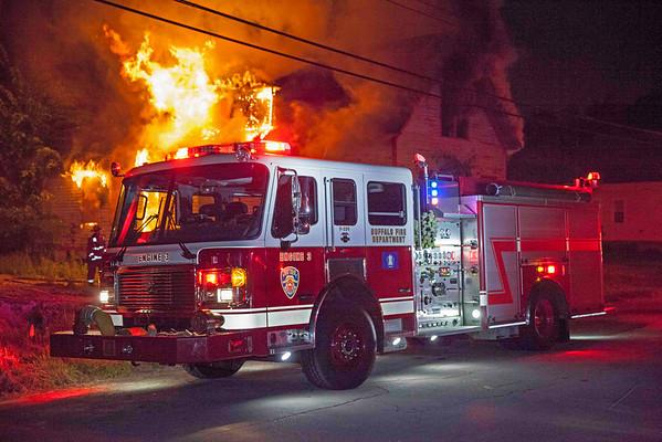 Buffalo NY - June 10, 2014 - Alarm of Fire - 202 Townsend St.