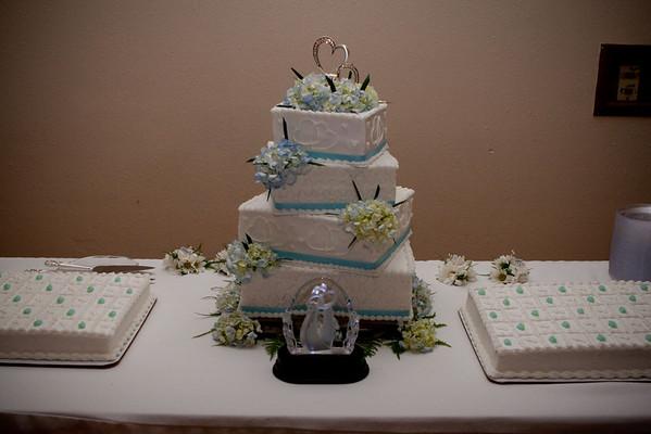 Cake Cutting - Jessica and Matt