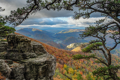north fork mountain, october 2007