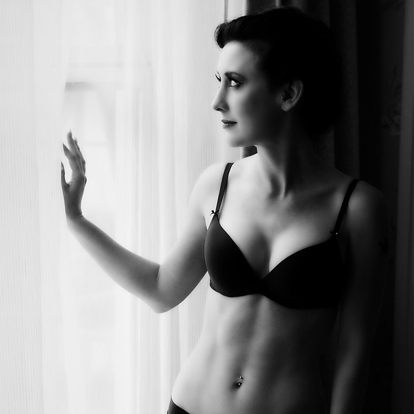 RGP061712-Photoshoot-Cornell Hotel-Chalyce in Lingerie Standing Back at Window-Blog Cover Image.jpg
