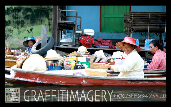 Bangkok and Floating Market  2/12/08