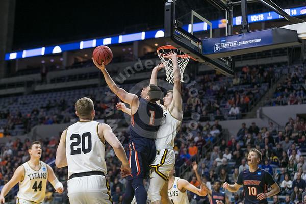 Wheaton College Men's Basketball vs UW OshKosh, NCAA Tournament Semi-Final Game, March 15, 2019