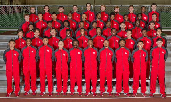 UH Track Team Photo 2013