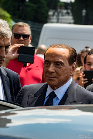funeral of Carlo Vanzina july 2018