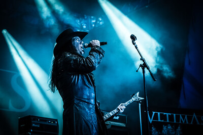 Vltimas performing at Tons Of Rock 2019