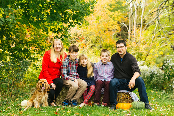 Fall Family Mini Sessions-The Walkers