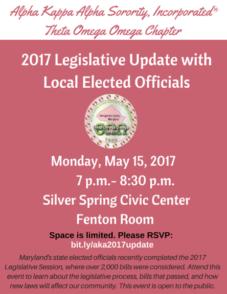 2017 Legislative Update with Local Elected Officials