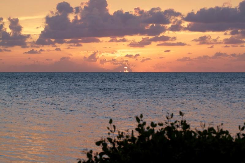 egret cove sunset