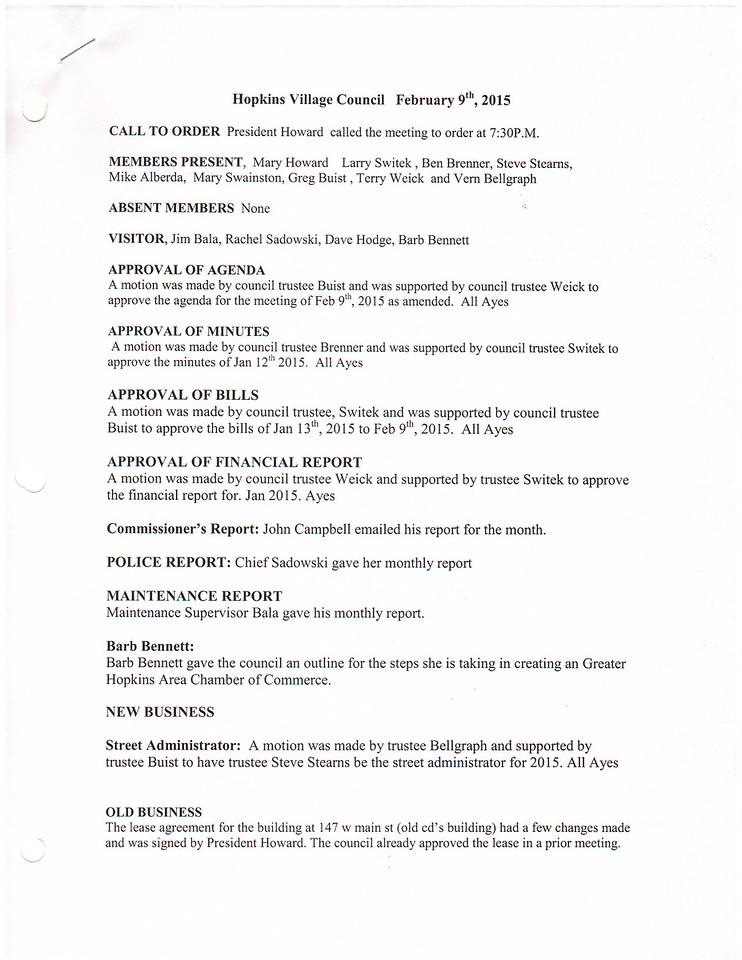 Feb 2015 Meeting Minutes pg 1