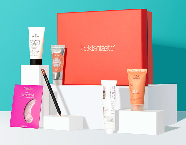 Look Fantastic beauty box (photo credit: Look Fantastic)