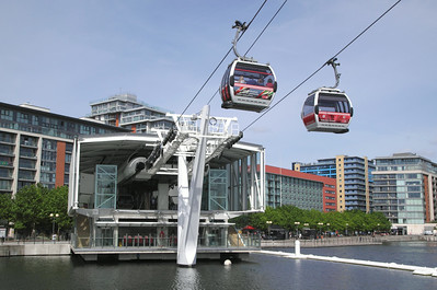 Emirates Air Line and Greenwich Peninsula London