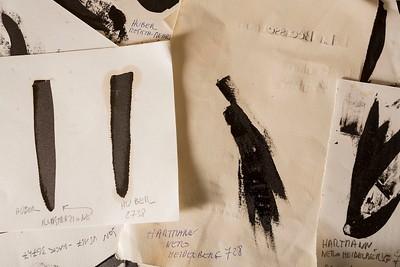 Letterpress inks - Inchiostri tpografici