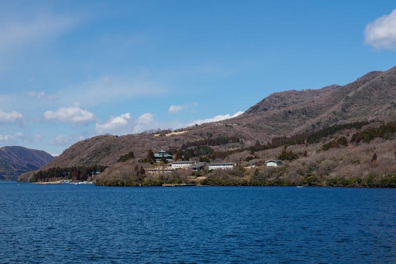 Lake Ashi /  Ryuguden