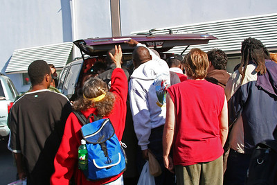 Homeless Outreach - March 2008