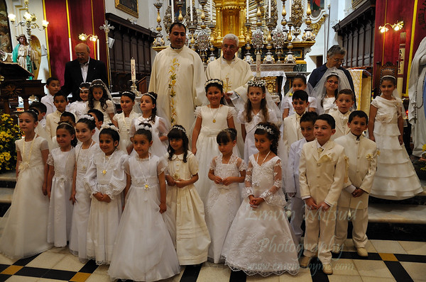 Reuben First Holy Communion