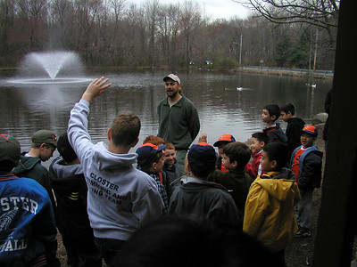 Cub Scout Night Hike, April 2003
