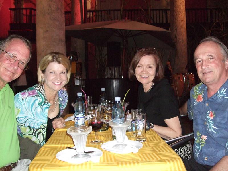 Dinner with Sandy, Jeanie, Karen, and Dick - Sandy Kirkpatrick