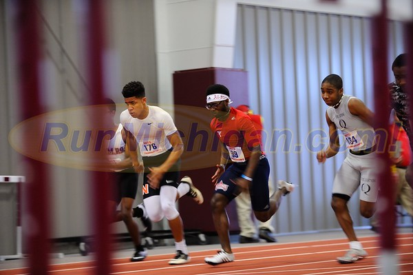 Boys' 60 DASH PRELIMS - 2017 MITS State Meet Day 1