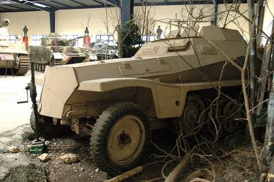 SdKfz 250/9 - Saumur