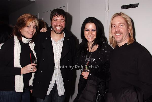 Denise Gerardi, Ray Rosario, Talia Segal, Kevin Allard photo by Rob Rich © 2008 robwayne1@aol.com 516-676-3939
