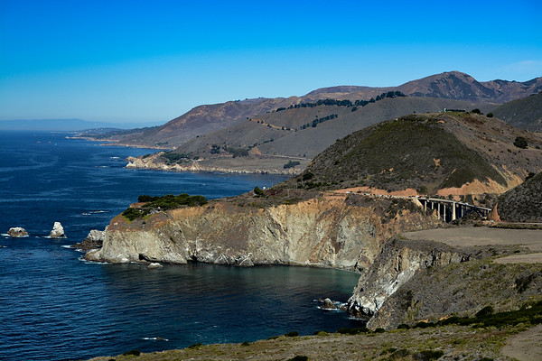 Bixby Bridge & The Pacific Coast Highway 1