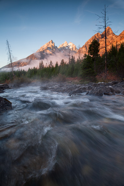 Sunrise at Cottonwood Creek, Grand Teton National Park, Wyoming. 2016