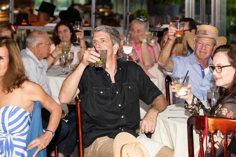 Glenn Franklin 70th birthday party at Marie Gabrielle Restaurant in Dallas Texas on June 3, 2018. (Photo/Gregg Ellman)