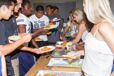 2013 SMHS Varsity Game Day Lunch