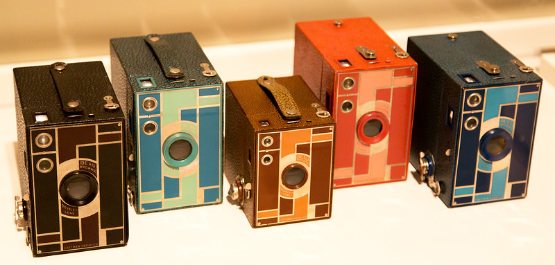 ... And I thought Brownie cameras came only in black!