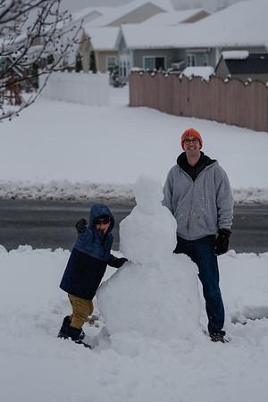 Winter 2020: March Madness Snowmen
