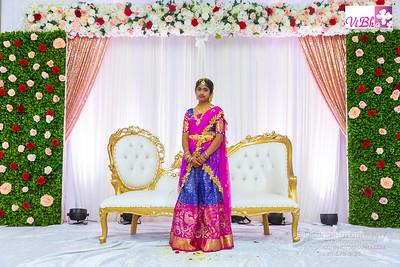 Bhavya halfsaree function!