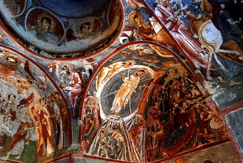 Frescoes in Goreme Caves