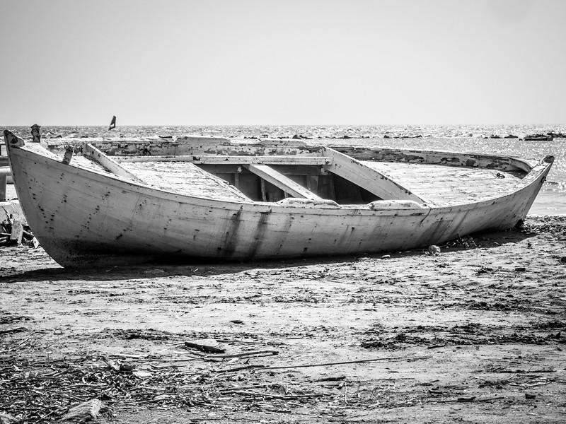 Boat in Limassol, Cyprus